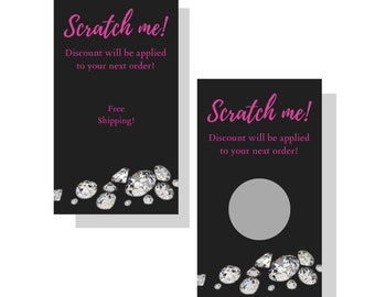 b7efa1053 Scratch Off Cards Free Shipping| Jewelry| Direct Sales, SeneGence, Color  Street, Mary Kay, Modere, Lularoe, Plunder, Thiry-one