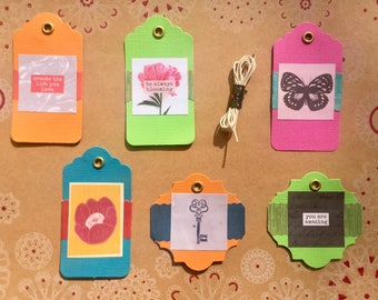You Are Amazing Gift Tag Set of 6 (#4)