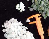 SEAHAM seaglass 150g of small multicoloured tumbled mermaids tears of sea tumbled glass