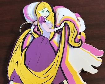 I'm SO Glad I Left My Tower - Rapunzel Notebook