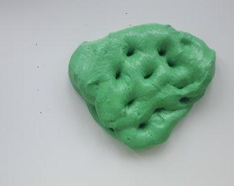 sour apple dough clay slime