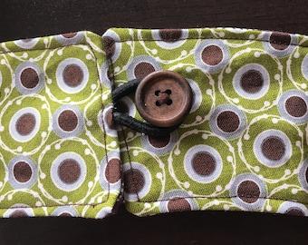 Reversible Coffee Cozy