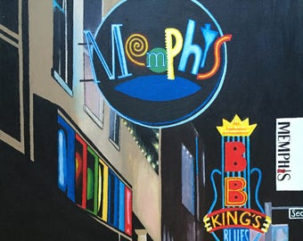 Memphis painting