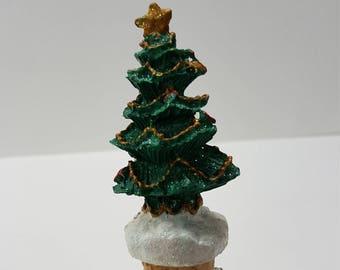 Christmas Tree Bottle Topper