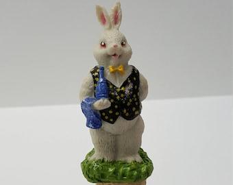Rabbit Bottle Topper