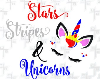 4th of July cutePatriotic unicorn princessunicorn svg Hipster Svg PNG Files Svg Files for Silhouette Cameo Svg Files for Cricut Files