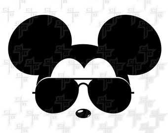 cute Cool Disney Mickey Mouse svg Hipster Svg PNG Files Svg Files for Silhouette Cameo Svg Files for Cricut Files for Girls or Boys