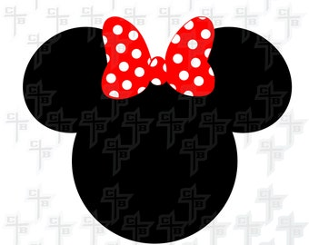 cute Disney Minnie Mouse svg Hipster Svg PNG Files Svg Files for Silhouette Cameo Svg Files for Cricut Files for Girls