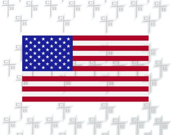 American Flag SVG DXF eps and png Files for Cutting Machines Cameo or Cricut Second 4th Birthday
