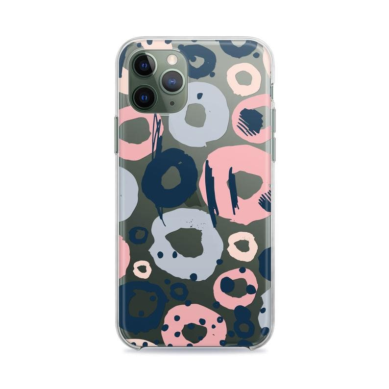 Colorful Abstract Circles iPhone 11 Pro Max XR Case iPhone 8 plus Case For Samsung S10 e Case Galaxy S9 Case For iPhone Case Google Pixel 4