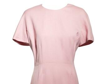 Vintage Escada Pink Sheath Wiggle Dress