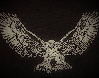 Flying Eagle (no background)