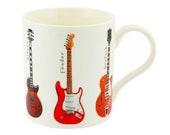 Guitars Mug Fender Gibson Gretsch