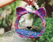 Transparent Cat Shaped Bag - Transparent Bag - Cat-shaped Bag - Transparent Style - Tiktok Handmade Bag