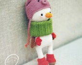 Best Christmas Gifts For Childs, Amigurumi Dolls, Crochet Amigurumi Snowman,  Amigurumi Doll For Kids, Crocheted Dolls For Sale, Toys