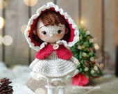 Crochet Doll for sale, Crochet Little Red Riding Hood Amigurumi, Crochet Amigurumi for sale, Amigurumi Princess Doll, Amigurumi Toys for Kid