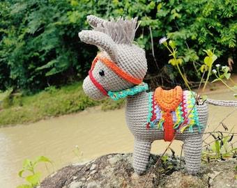 Colourful Donkey