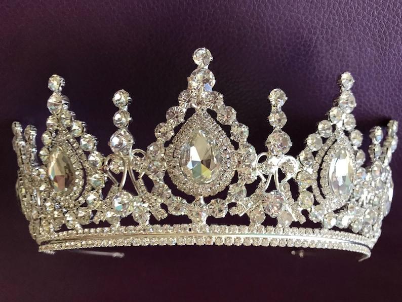 53c0d337980d Swarovski crystal wedding tiara crown tiara bridal tiara