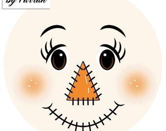 Cute scarecrow | Etsy