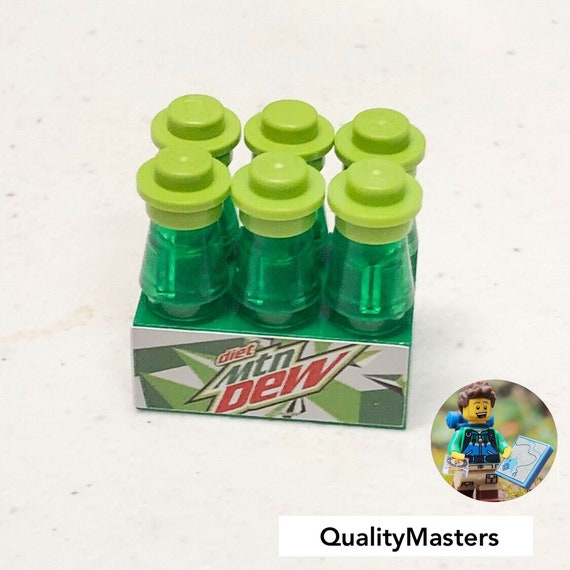 Lego Mountain Dew Vending Machine Custom Set for Boys /& Girls Very Detailed New