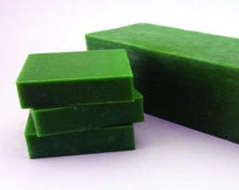 Cool Citrus Basil Soap Cold Process Soap / Ready to Ship!!!