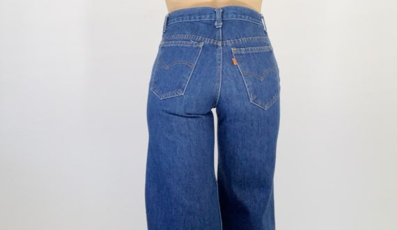 70's Levi's Wide leg bell bottoms 26L