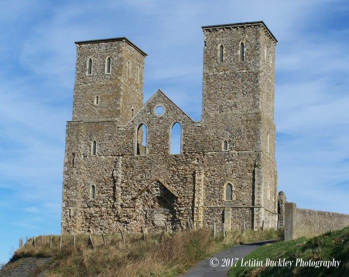 A4 print - St. Mary's Church, Reculver