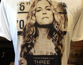 1b83fdf1d8 Three From Hell - White T-Shirt! Sherri Moon Zombie