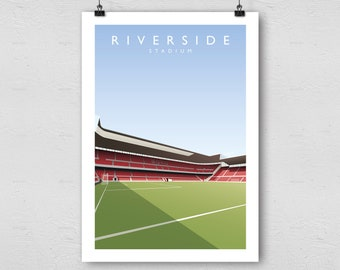 Middlesbrough print | Etsy