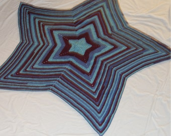 5 Point Star Kids Blanket
