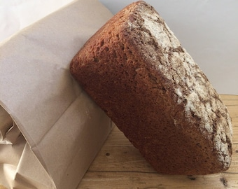 Borodinsky rye bread - Rye bread - Organic rye bread - Organic bread - Traditional Eastern European bread -Freshly baked Sourdough - Healthy