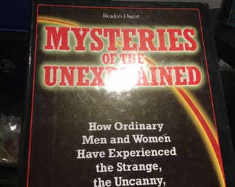 Mysteries of the Unexplained Reader's Digest Book