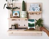 """Pegboard Shelf : Medium Square 24"""" x 24"""""""