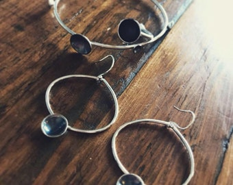 Hand Made Sterling Silver Oxidised Jewellery