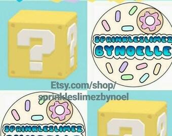 Slimer's Sampler Mystery Slime Pack! One 6oz Slime & Heart Shaped Mini Slime