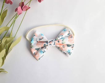 Floral Spring Bow