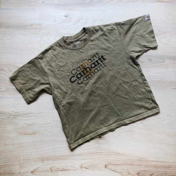 T-Shirt Tan Carhartt d'enfant