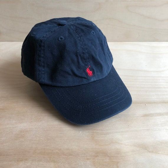 Toddler Polo Dad Hat in Navy  26c5fa769c9