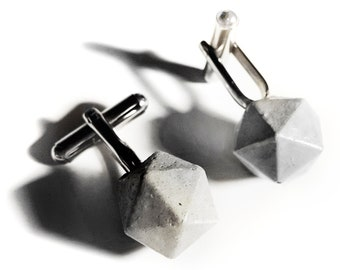 Concrete Cuff Links