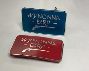 Wynonna Earp Belt Buckle - anodized