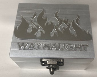 Wayhaught Box Set with Shot glass of your choice.