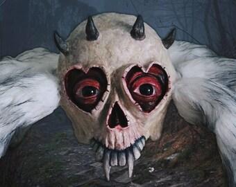 Horror Sculpture Skeleton Spider