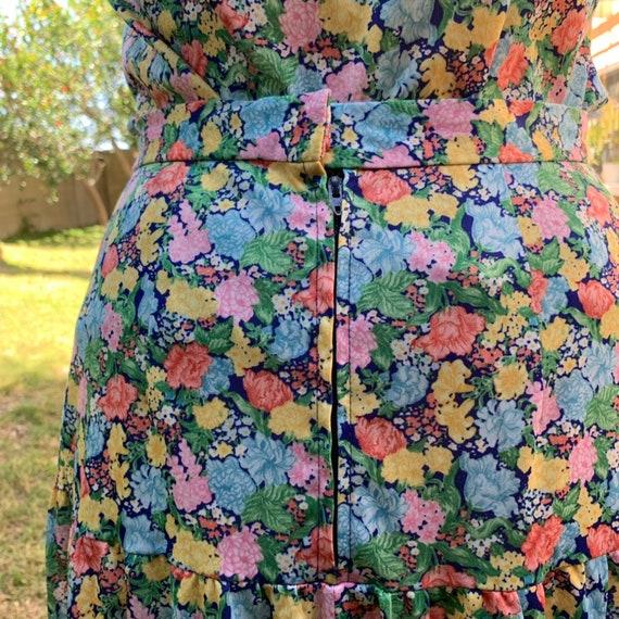 70s Floral Two Piece Set - image 7