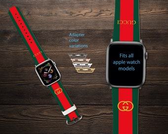 1b708e01745 Inspired by Gucci Apple Watch Series 1-4 iWatch Band Apple Watch Band Apple  Watch 38mm GG Watch band iWatch Leather Band Watch band 42