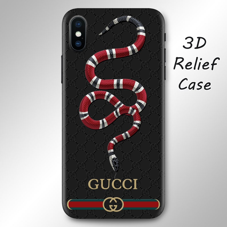 separation shoes 66b89 60097 Inspired by Gucci Snake iPhone XS Max case iPhone X case Galaxy S9 case  iPhone 8 Plus case Note 8 case iPhone 7 Plus XR case Galaxy S10 Plus
