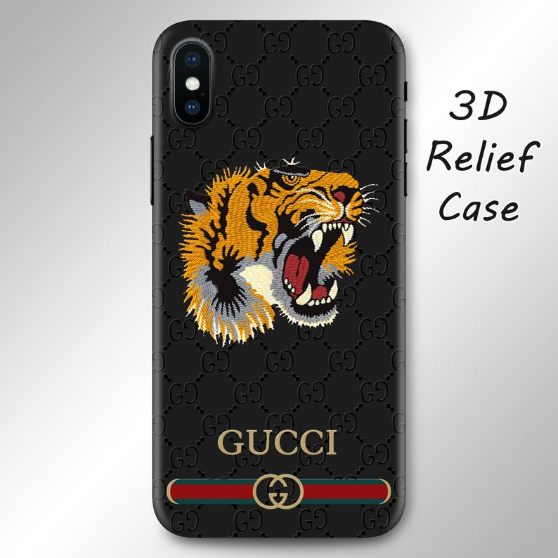 best website 76faa d1d10 Inspired by Gucci Tiger iPhone XS Max case iPhone 8 case Galaxy S9 case  iPhone X case Note 9 case iPhone 7 Plus iPhone XR case Galaxy S8