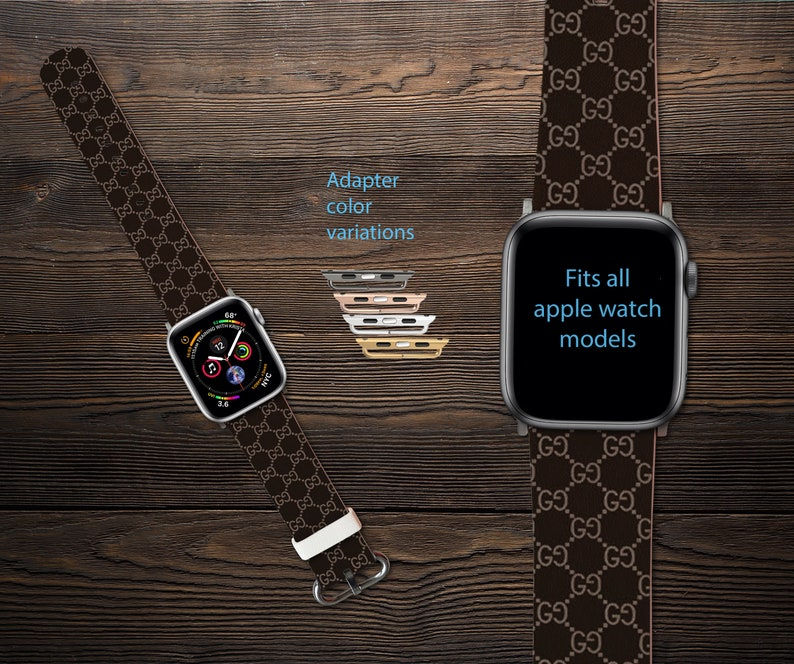 ff70ded395f Inspired by GUCCI Apple Watch Band Series 1-4 Fashion Watch