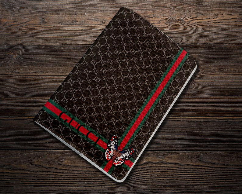 80d05a4db57 Inspired by Gucci Passport Holder Brown Passport Cover