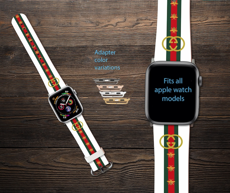 e0a3ee6bd25 Inspired by Gucci Apple Watch band Bee iWatch Band Apple Watch