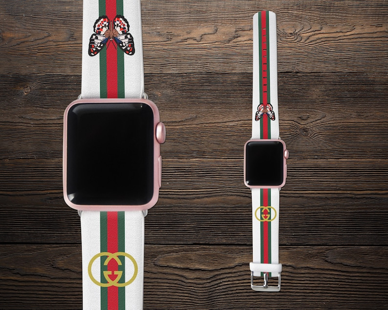 e4e73601b60 Inspired by GUCCI Apple Watch Band Series 1-4 iWatch 44mm